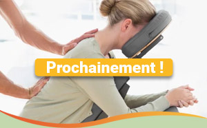 Massage chaise