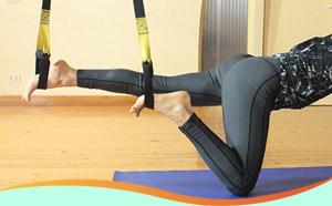 Cours de Pilates suspension